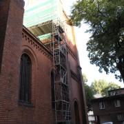 remont elewacji kościoła