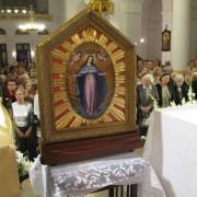 feretron przedstawiający Matkę Bożą Łaskawą