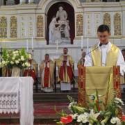 Msza św. dziękczynna - ks. Sebastian Wawrzyński