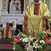 Msza św. dziękczynna - ks. Carlos Damaglio