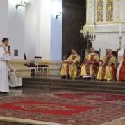 Msza św. dziękczynna - życzenia dla ks. Proboszcza