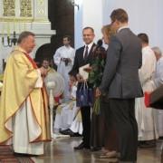Msza św. dziękczynna - odznaczenie ks. Proboszcza