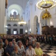 Msza św. dziękczynna - parafianie