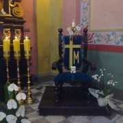 Kalwaria Zebrzydowska - tron Papieski