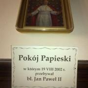 Kalwaria Zebrzydowska - pokój Papieski