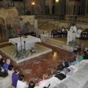Nazaret-Grota Zwiastowania