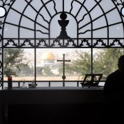 Jerozolima-Kościół Dominus Flevit