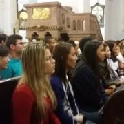 pielgrzymi z Belem w  Brazylii